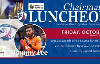 Chairman's Luncheon event with Tommy Lee