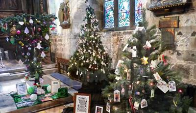 Chesterfield Crooked Spire Church Christmas Tree Festival