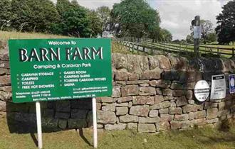 You will always find a warm welcome at Barn Farm.