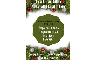 Christmas Gifts, Arts and Crafts Fair