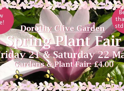 Plant Fair at the Dorothy Clive Garden