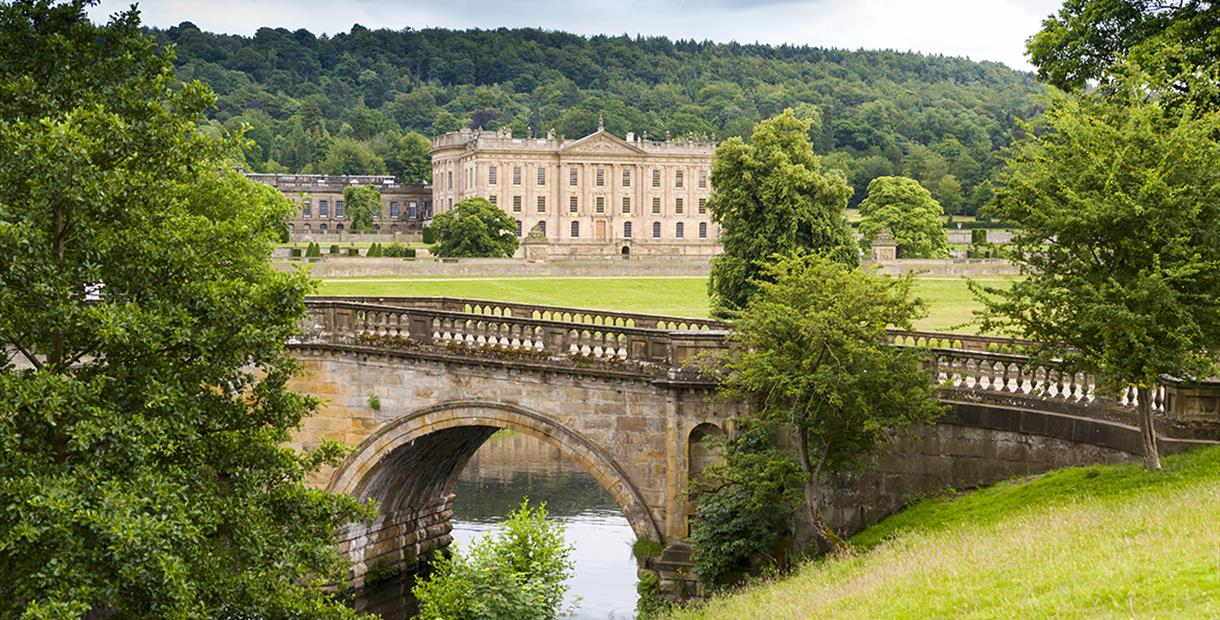View of Chatsworth House