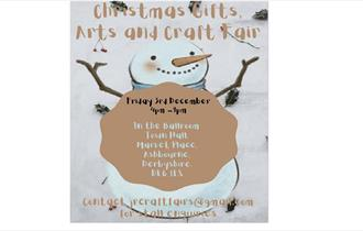 Christmas Gifts, Arts and Crafts Fair Late Night Shopping Event. Wonderful gift ideas. Free admission and everyone is welcome.
