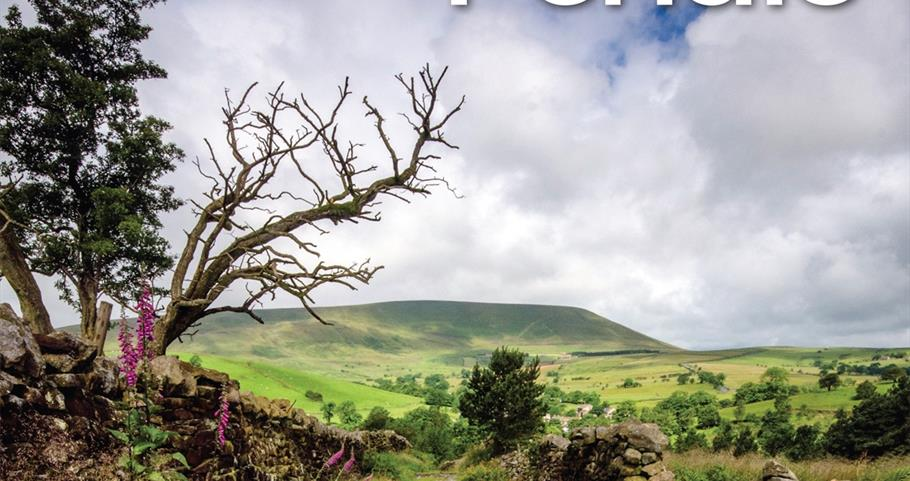 Picture of the Pendle Visitor Guide front cover