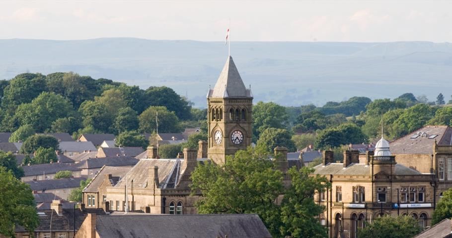 Picture of panoramic view over Colne