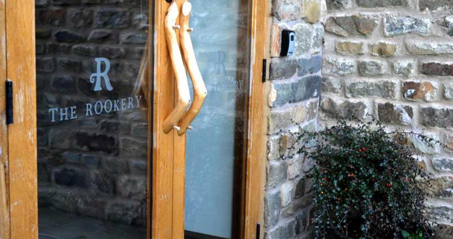 Picture of front entrance to The Rookery self-catering cottage