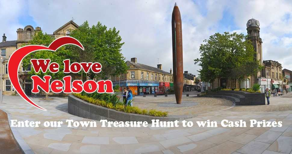 Enjoy We Love Nelson Treasure Hunt and win cash prizes