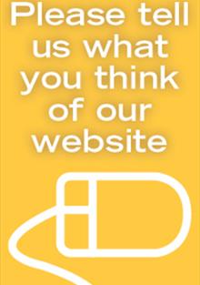 Website Feedback advert