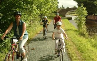 Family Cycle Rides in East Lancashire