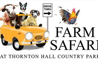 NEW Farm Safari at Thornton Hall Country Park