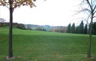 view from course