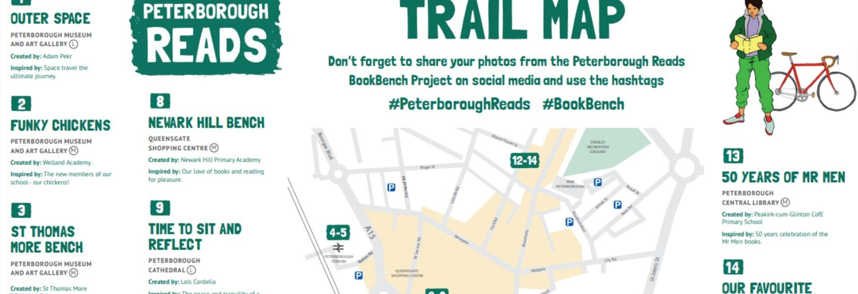 BookBench Trail Map (snippet)