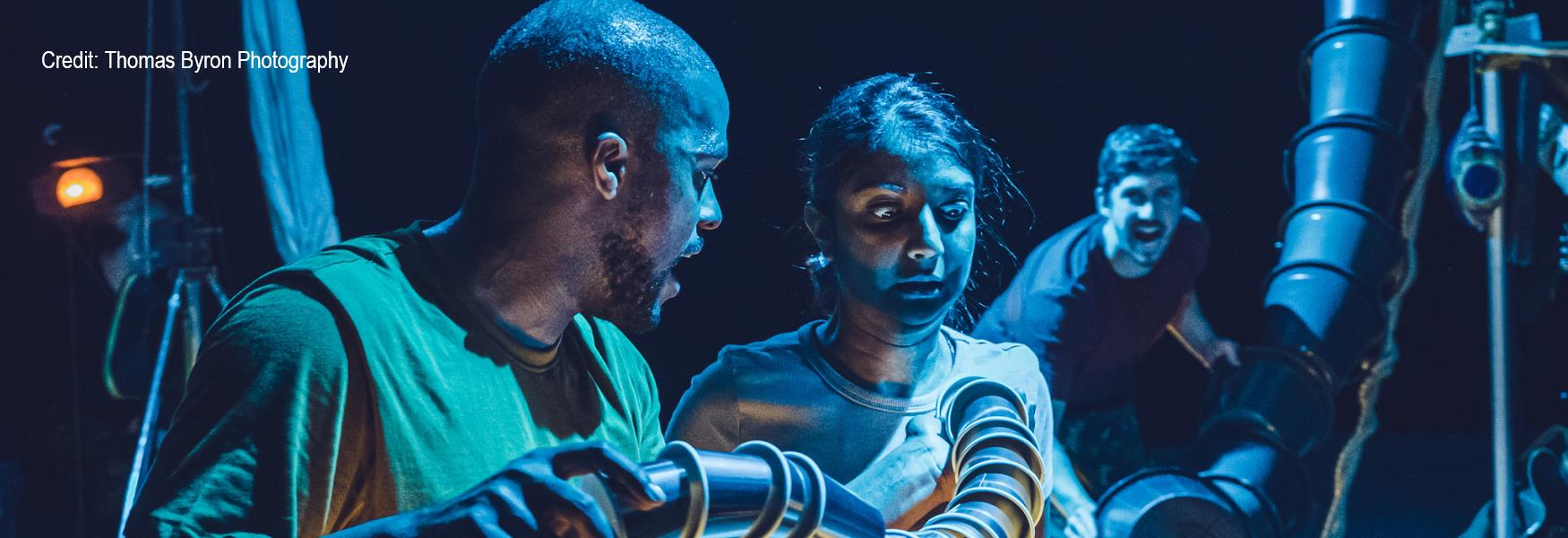Kaa and Mowgli - a production by Lamphouse Theatre
