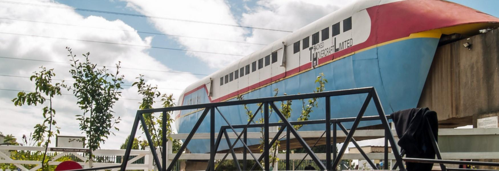 The Hover Train at Railworld