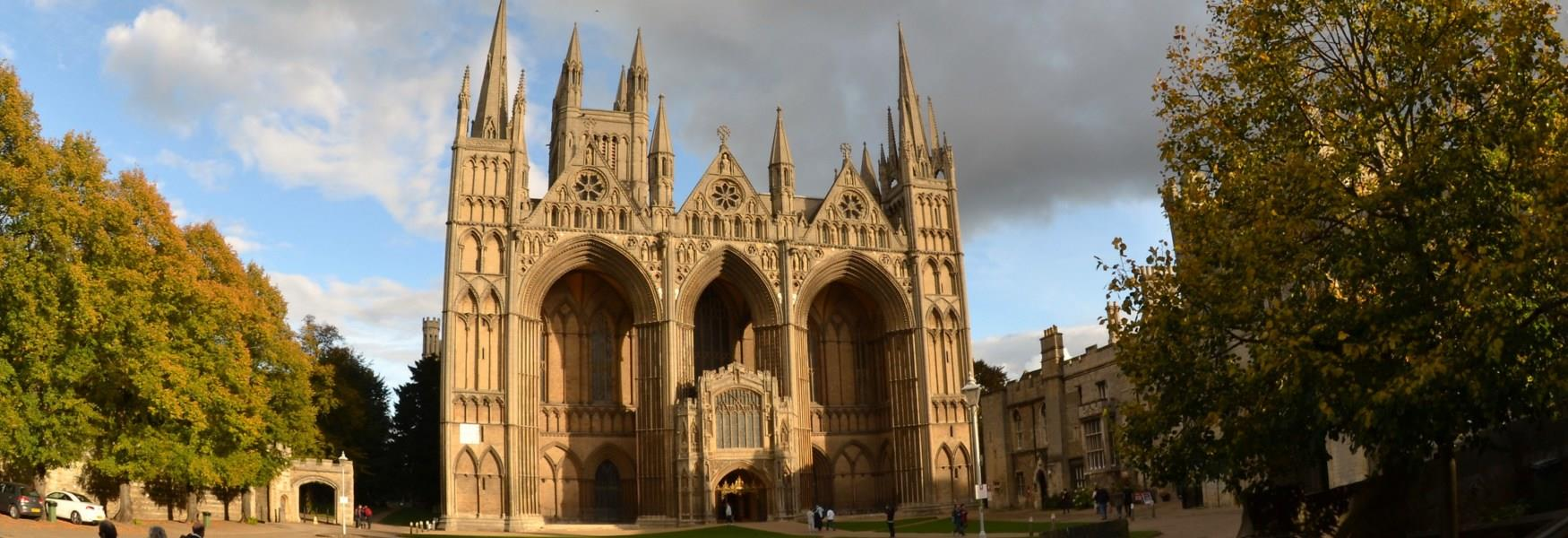 Peterborough Cathedral front view
