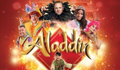 Aladdin - Christmas Panto at New Theatre, Peterborough