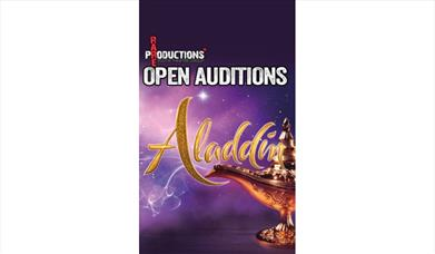 Open auditions for Aladdin (performed at The Cresset in March 2022)