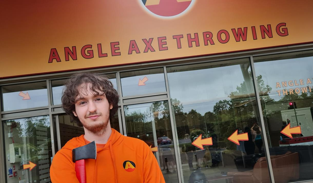 Angle Axe Throwing at Peterborough One Retail Park