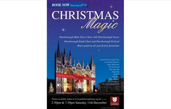 Christmas Magic - featuring performances from Peterborough Male Voice Choir, Peterborough Voices and Peterborough Youth Choir, with Peterborough Festi