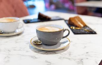 Afternoon tea, and coffee and cake, at The Chalkboard