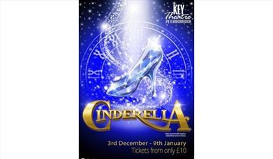 Cinderella panto at the Key Theatre 2021-2022
