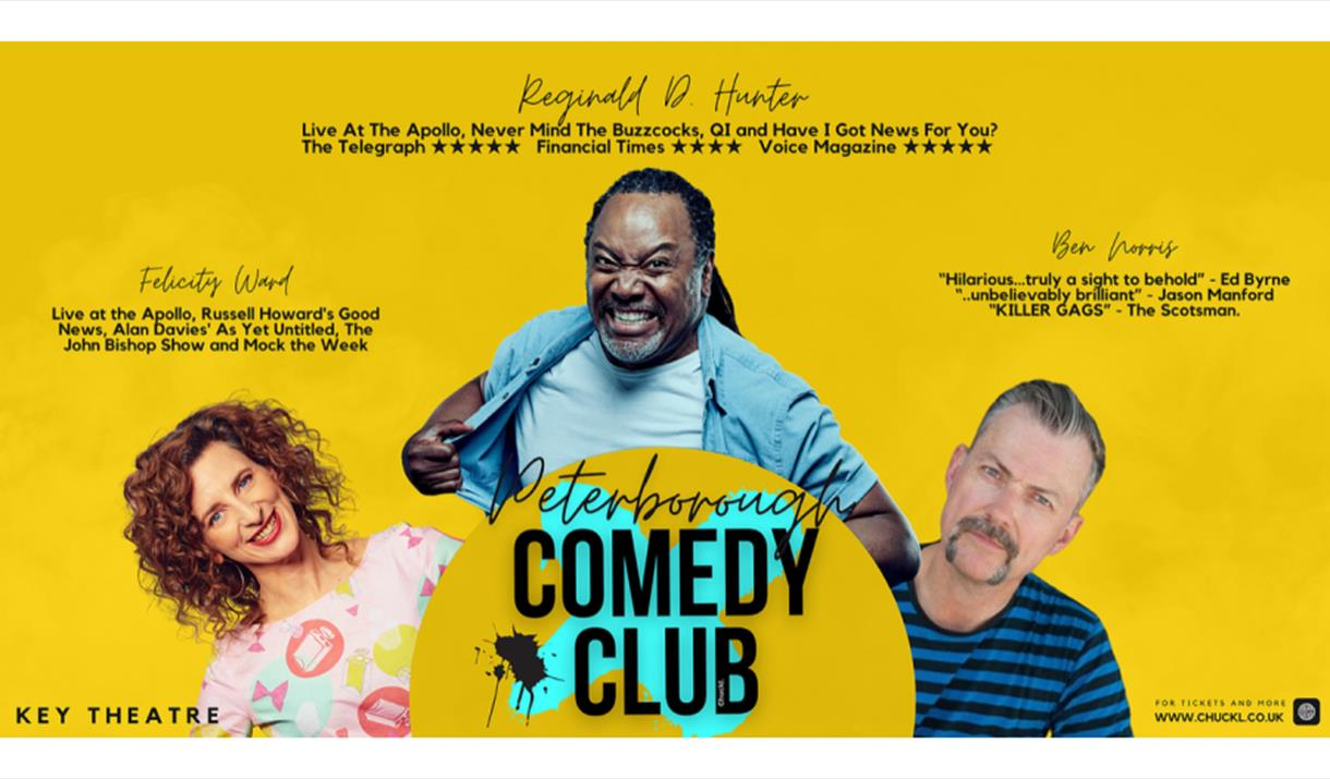 Comedy Club comes to the Key Theatre in October 2021