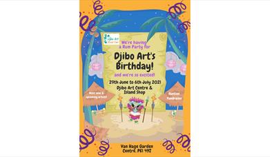 Djibo Art Island's Birthday!