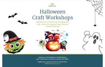 Halloween Craft Workshops, Burghley House