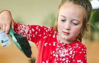 Little Seedlings workshop for children at Dobbies Garden Centre