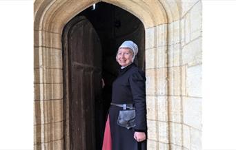 Margaret Scarlett, the Tudor Tour Guide