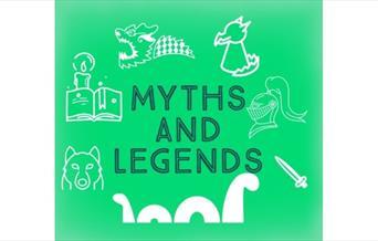 Myths & Legends exhibit at Peterborough Museum