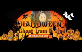 Halloween Ghost Train and Trail at Nene Valley Rail