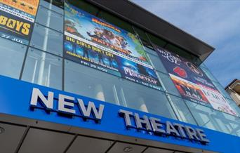 Entrance to the New Theatre
