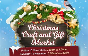 Peterborough Cathedral Christmas craft and gift market