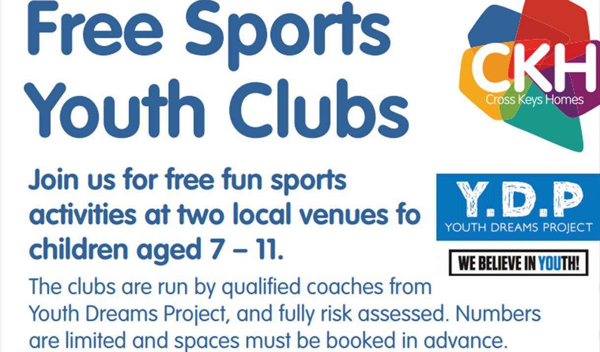FREE! Sports Youth Club - Bretton