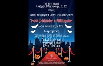 Halloween murder mystery at the Bull Hotel