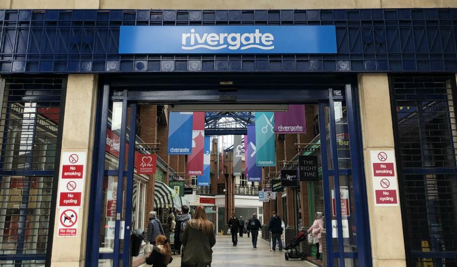 rivergate entrance
