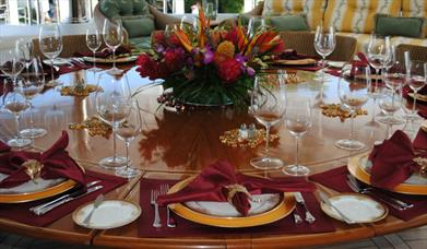 Banquet stock image