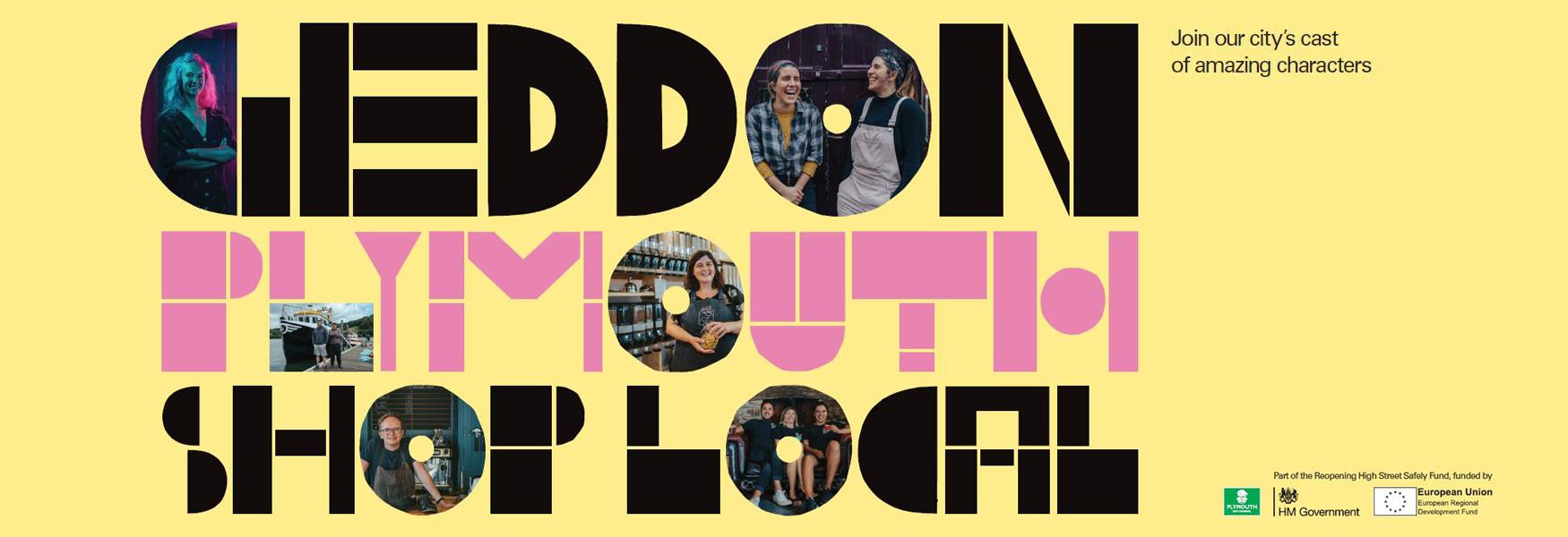 Geddon Plymouth Shop Local - Join our city's cast of amazing characters
