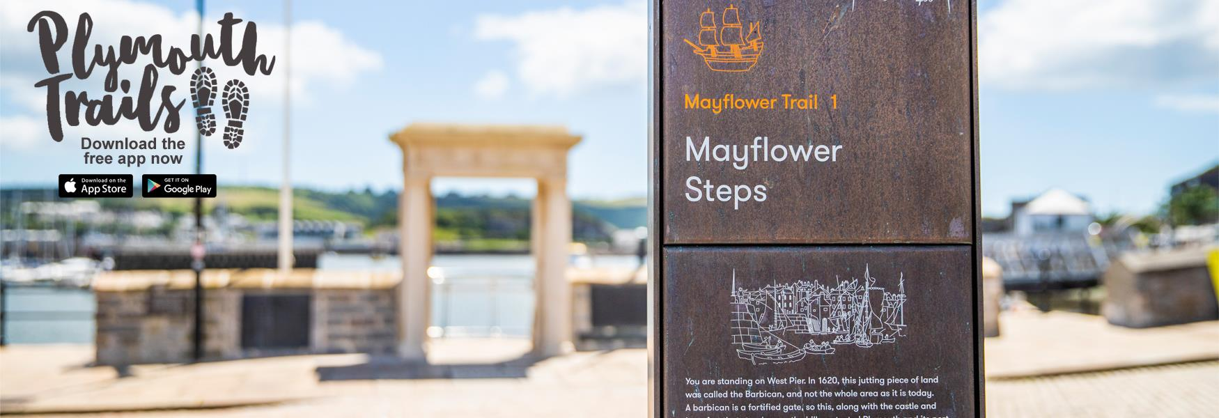 Mayflower Trail - Download the free app today