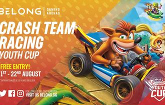 Crash Team Racing Youth Cup Ages 13-16