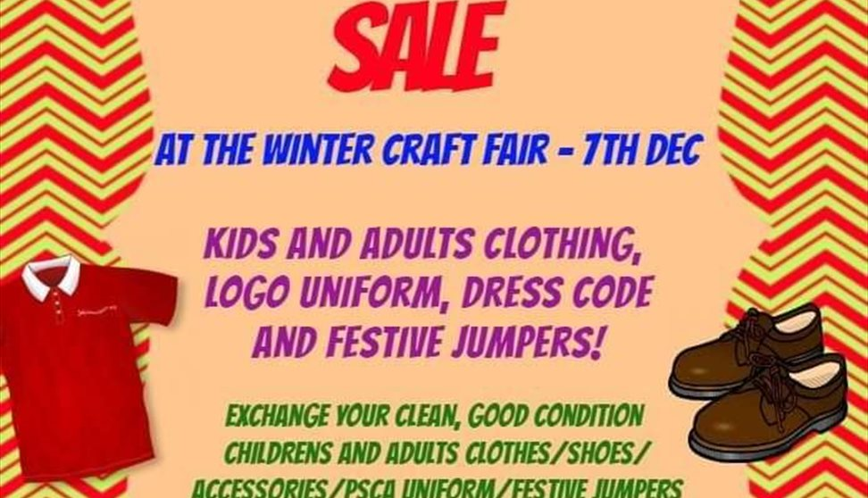 Clothes Swap & Sale at PSCA Winter Craft Fair