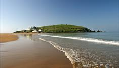 Burgh Island from Bigbury on Sea