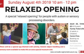 A Special Relaxed Opening for Autism at Bodmin Keep!