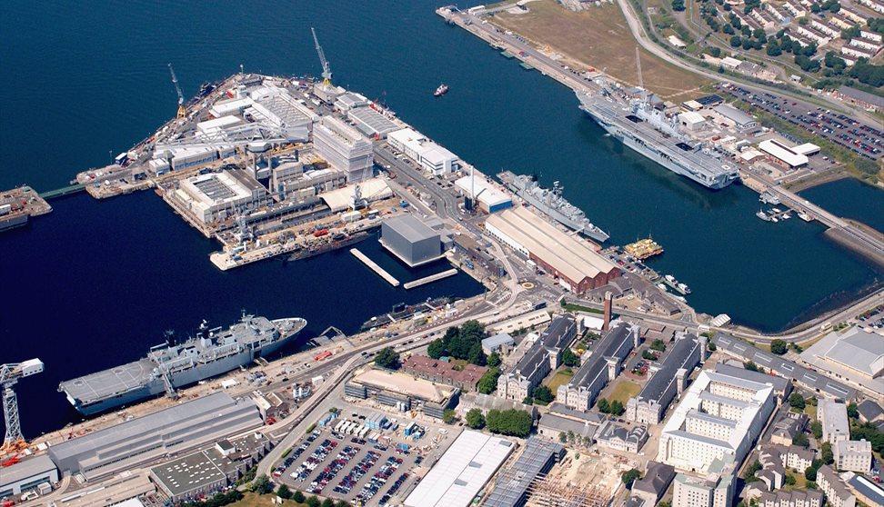 The Royal Navy at Devonport