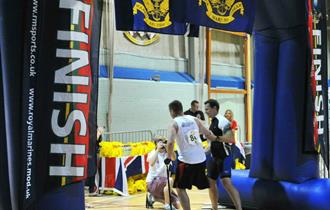 Rehabilitation Triathlon, hosted by the Royal Marines