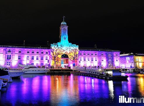 Illuminate Royal William Yard building