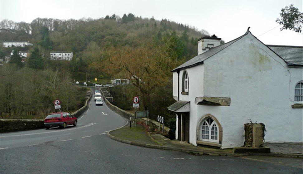 Gunnislake ~ Toll House and Newbridge by Jonathan Billinger