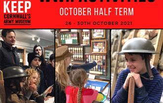 Bodmin Keep October Half Term Activities