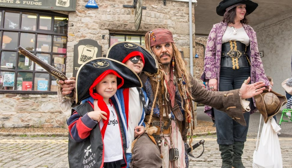 Virtual Pirates Weekend Plymouth